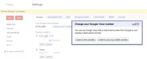 porting you number to google voice