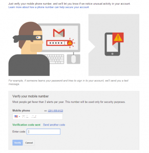 Transfer Google Voice account - verificaton code